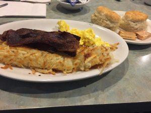 Breakfast American style