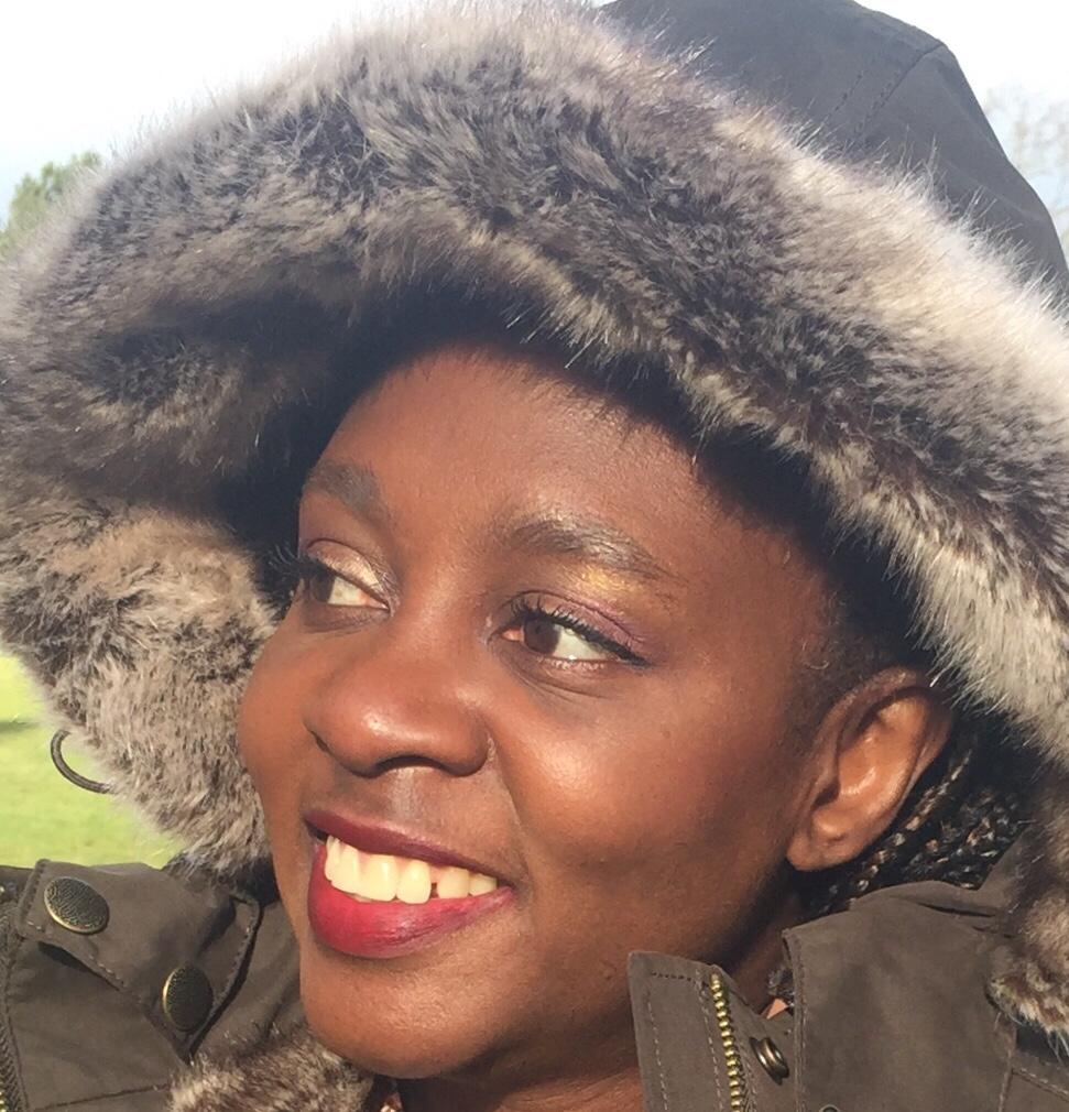 Enjoying the February sunshine on a freezing cold day