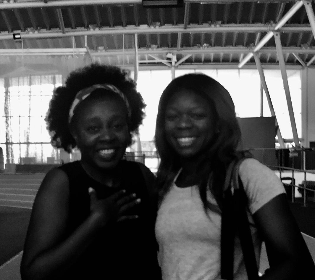 Asha Philip and I