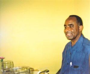 John Ogeah at a family dinner back in 2001 or 2002